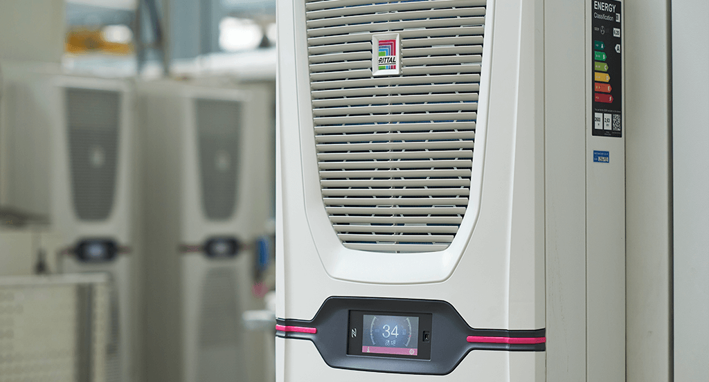 Rittal's climate control systems promote energy efficient cooling.