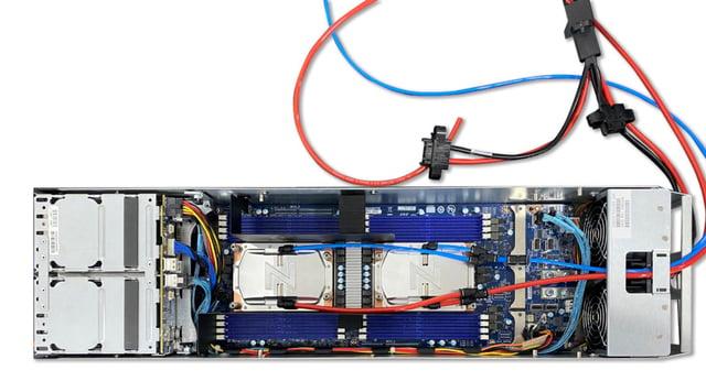 Gigabyte OCP Cooled by ZutaCore