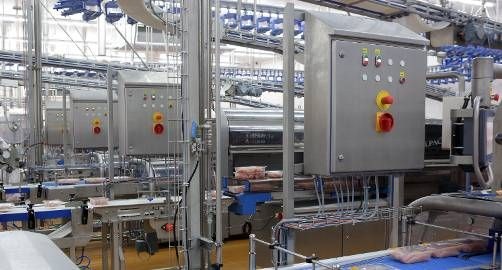 Celler Land Geflügel: Hygienic protection of the control electronics